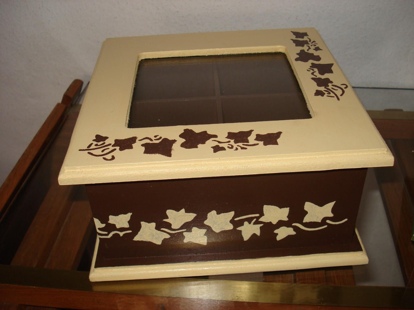 Vany cajas de te - Cajas decoradas a mano ...