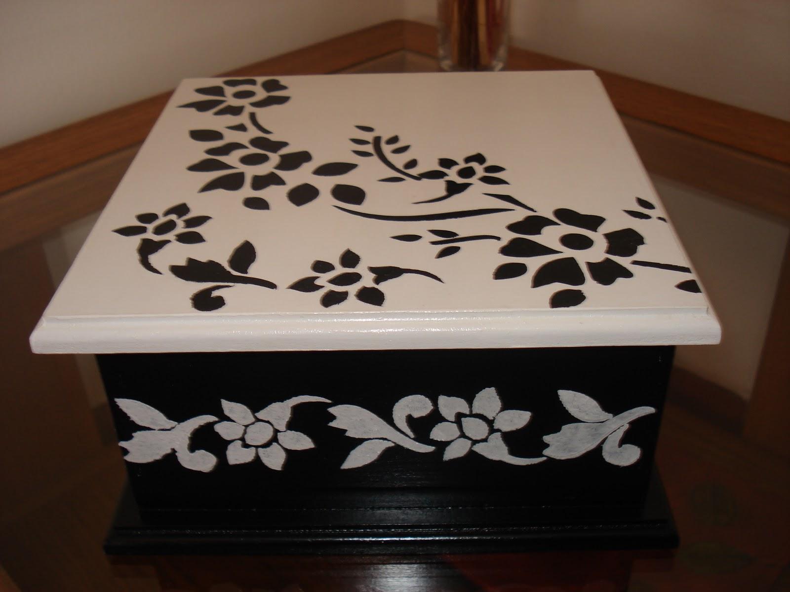Vany cajas de te - Cajas de madera pintadas a mano ...