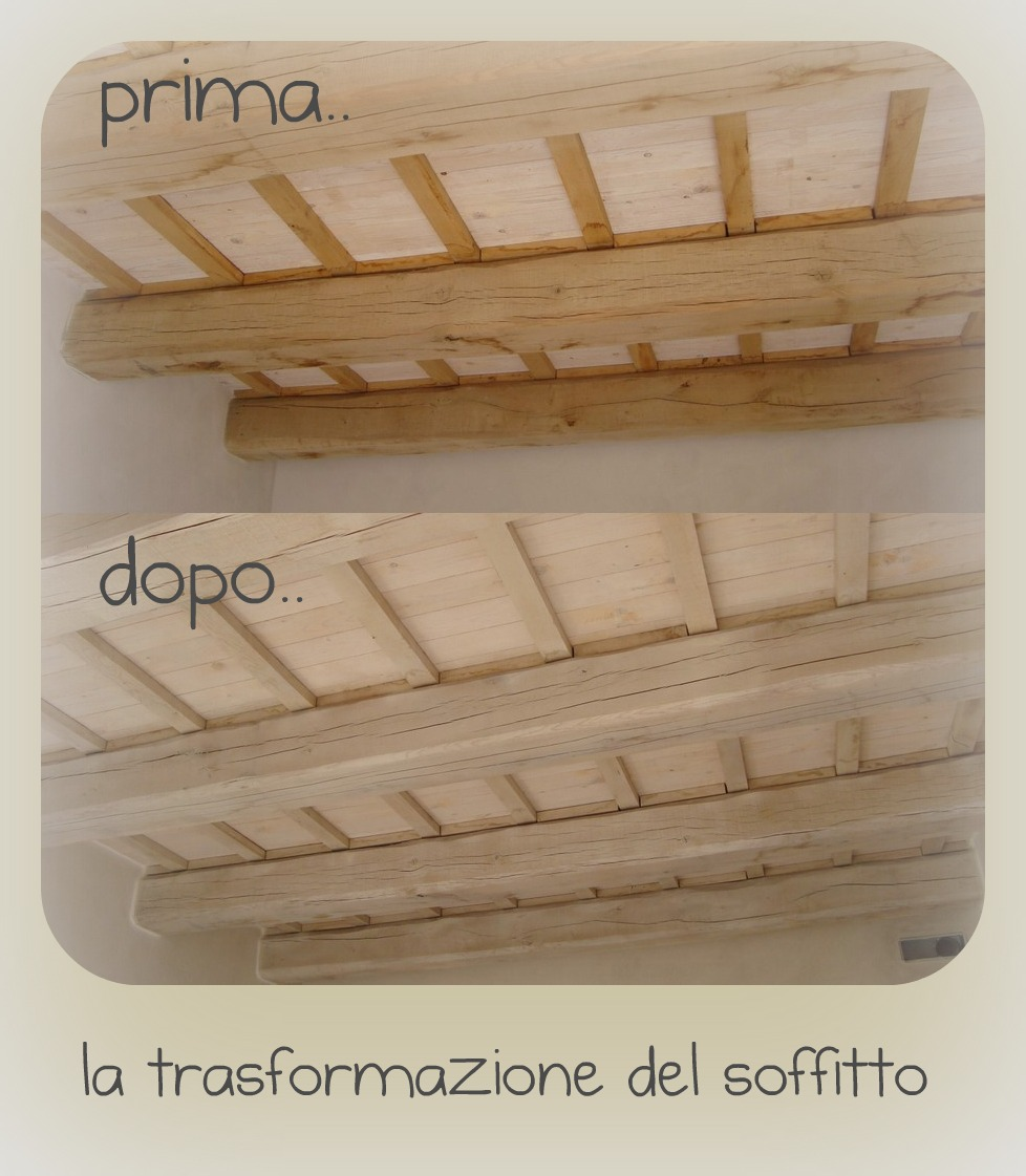 My country nest piccoli scorci per voi for Perline legno bianche