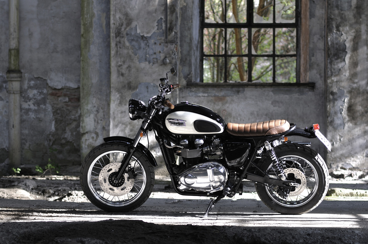 triumph scrambler custom seat | wallpaper for desktop