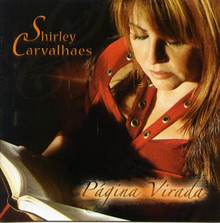 Capa do CD Shirley Carvalhaes   Página Virada