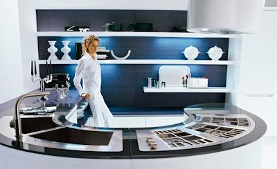 U Shaped Kitchen Remodel