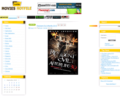 Hotfile Movies DLE Template