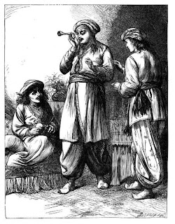 an illustration from a Victorian edition of The Three Princes of Serendip
