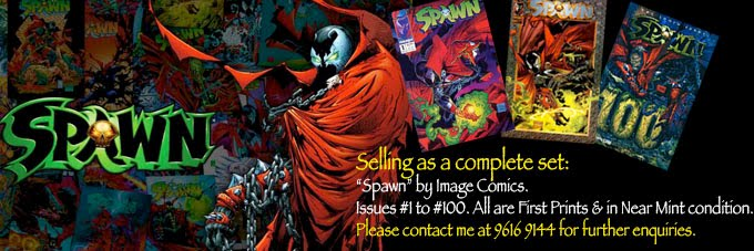 SPAWN Complete Set #1-100