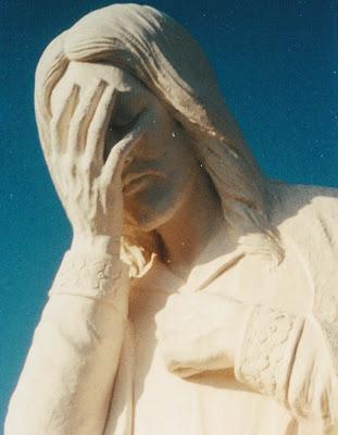 Jésus pleure