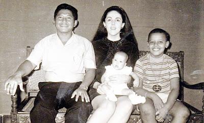 Barack Obama jeune
