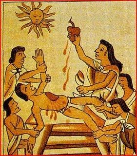 Sacrifice Aztèque