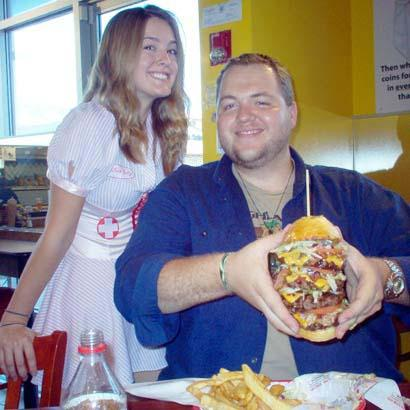 heart attack grill burger. Heart Attack Grill