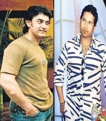 Sachin and Aamir khan