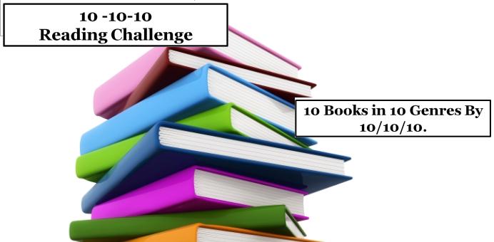 10-10-10 Reading Challenge