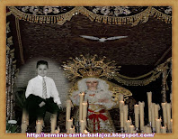 Jairo con la Virgen de la Esperanza