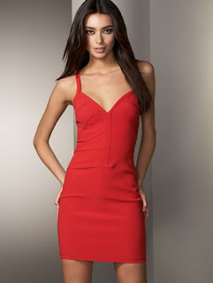 Seamed Halter Dress