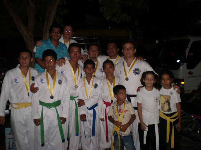 condecoracion Municipal a TaeKwon-Do ITF