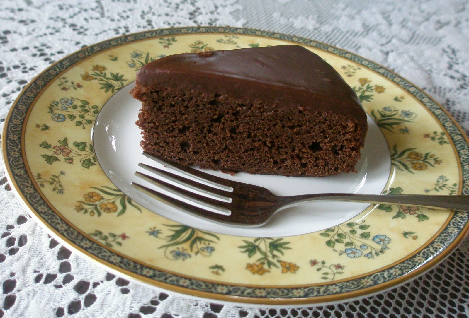 Fast, Easy, and Elegant Chocolate Cake, Gluten-Free