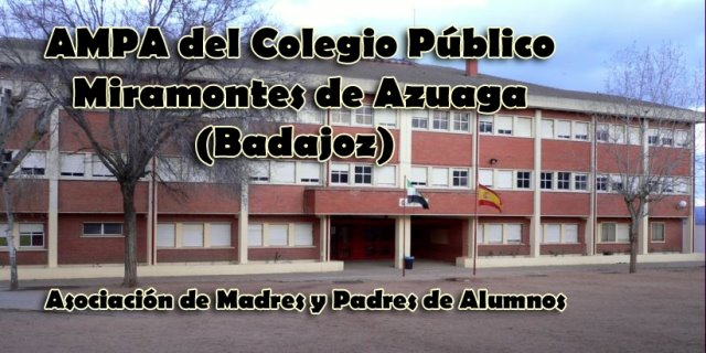 AMPA del Colegio Público Miramontes de Azuaga (Badajoz)