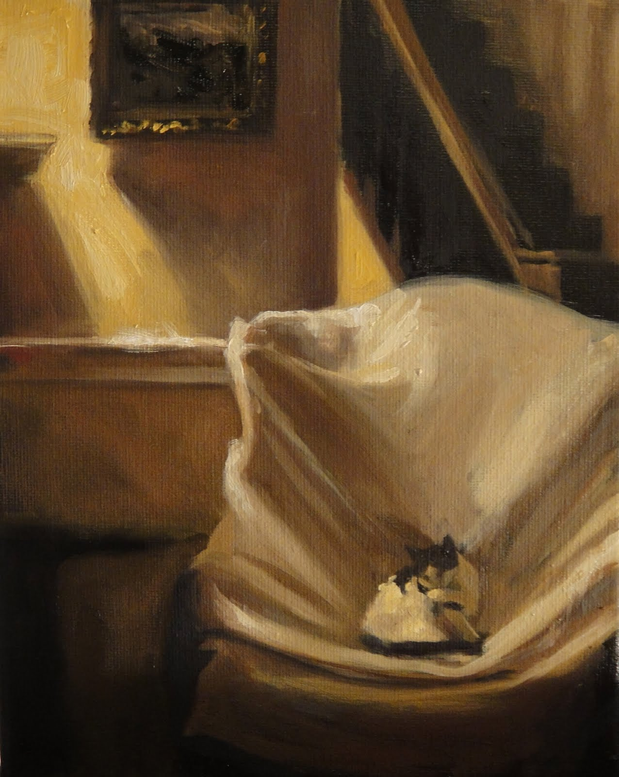 Jonelle Summerfield Oil Paintings BED BATH AND THE PAINTING BEYOND