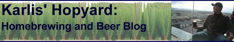 Karlis' Hopyard:  Homebrewing and Beer Blog