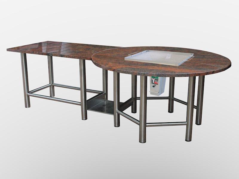steintisch blog alles rund um tische aus naturstein der neue grilltisch ist da. Black Bedroom Furniture Sets. Home Design Ideas