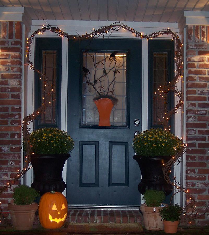 Fall Door Decor Inspiration southern fried gal