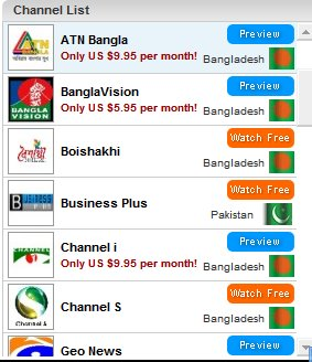 ASIAN LIVE TV CHANNELS