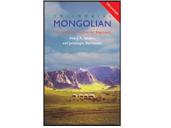 """Colloquial Mongolian"" New-York, London, Routledge, 2000, 2001"