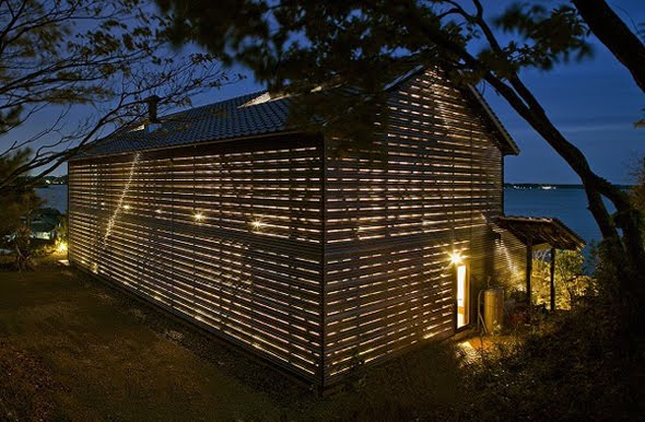 Modern Contemporary Barn Style Home Design by Japanese ...