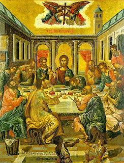 Prophetic fraternal franciscan passover seder and the for Difference between dinner supper