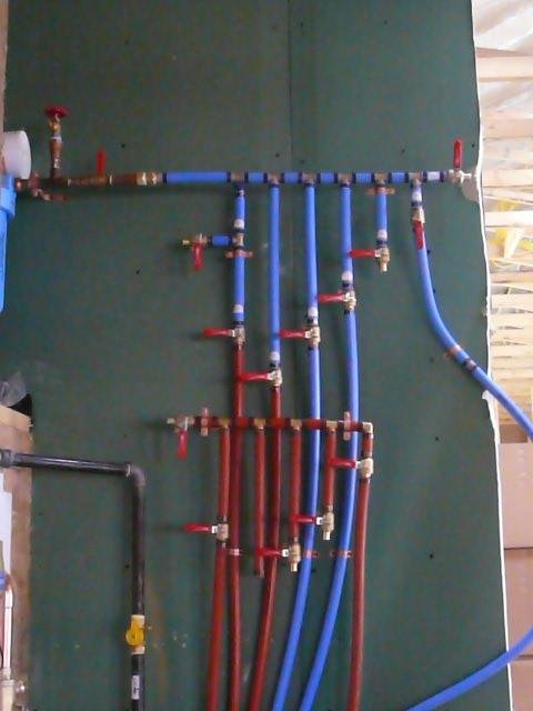 Mckenzie castle heat for Pex water line problems