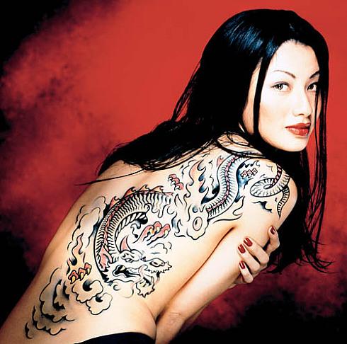 татуировки якудза значение - Мотивы ирэдзуми (татуировки якудза) LiveInternet ru