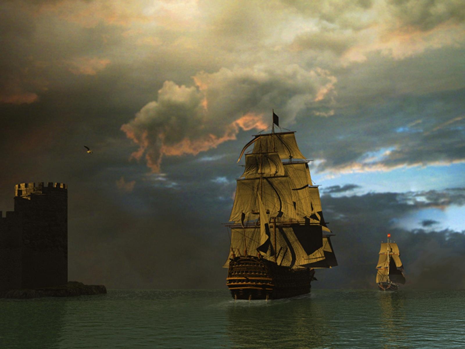 bateau pirate wallpaper - photo #31