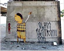 """graffiti de """"Os gêmeos"""" -são paulo"""