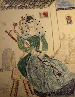 Dibujo de Lorca