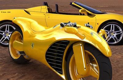 Motos Tuning - Moto da Ferrari