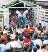 RASO M DE G RESULTA HERIDO AL CAERSE DE UN CAMION DEL PLAN SOCIAL