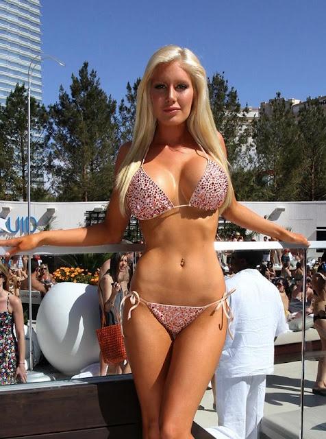 Heidi Montag Hot Bikini Beach