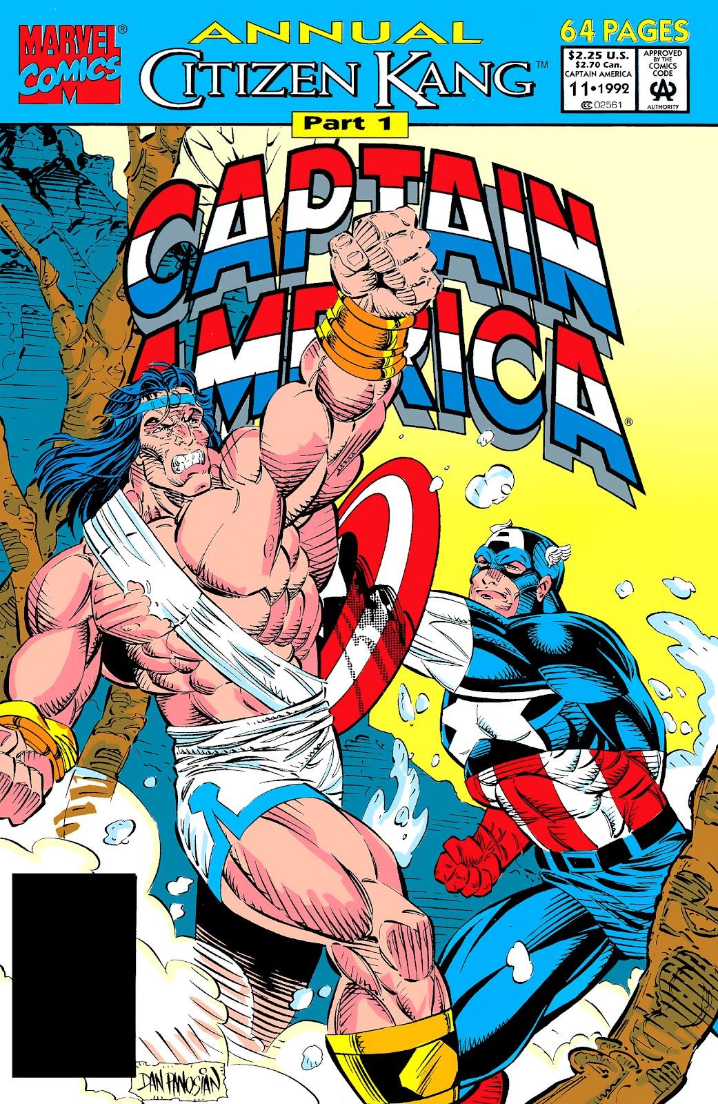 Captain America (1968) _Annual 11 #11 - English 1