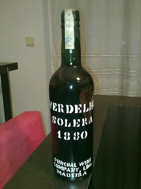 Verdelho Solera1880 vinho da madeira