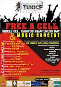 """The""""FREE A CELL"""" sickle cell awareness day & music concert features: Music, ."""
