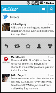 Twitter for Android: Update available Android105-1