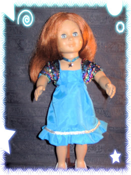 I Make outfits to fit the American girl doll