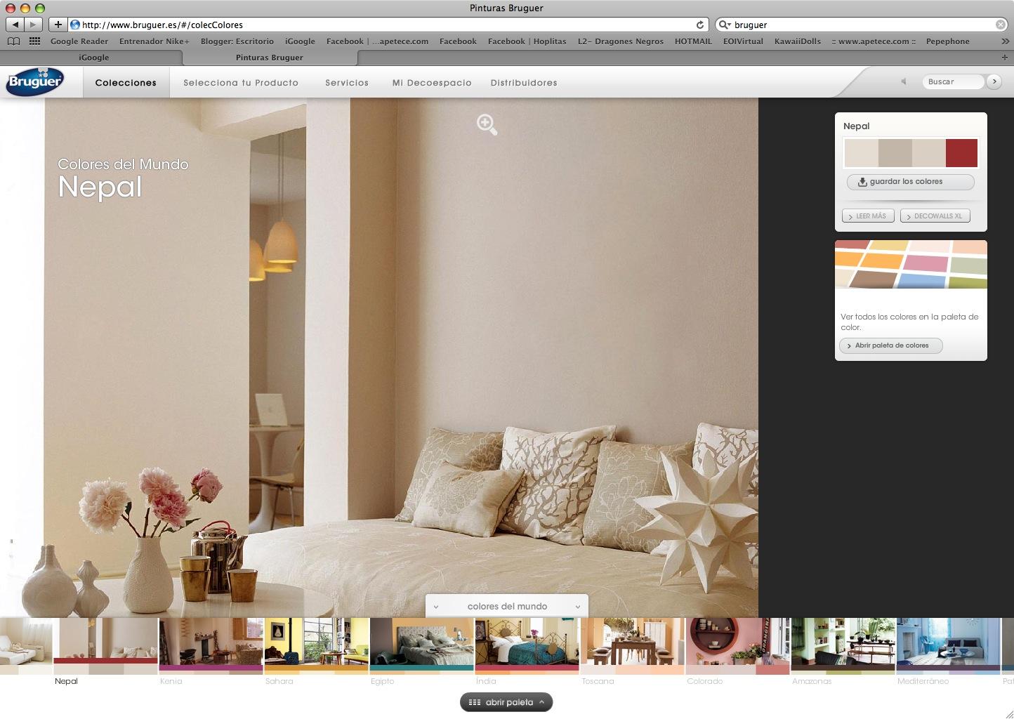 Colores bruguer para salon great vdeo tutorial cmo pintar - Bruguer colores del mundo leroy merlin ...