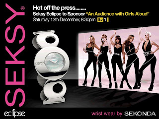 "Sekonda Seksy Eclipse sponsors An ""Audience with Girls Aloud ..."