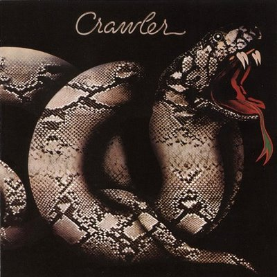 Rock On Vinyl Crawler Selftitled 1977 Snake Rattle