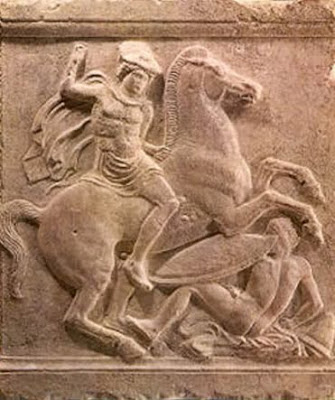 Macedonian+horseman Falsifying History   Fabricating a Fake Identity: Skopjan pseudo Makedonism on YAUNA   YAVAN   IONIANS