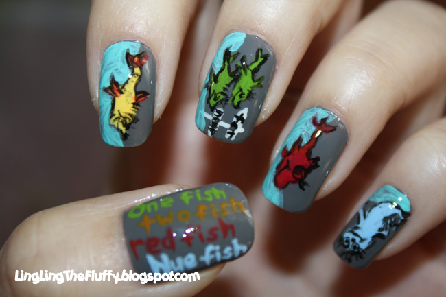 Fluffys Two Cents Dr Seuss Mani