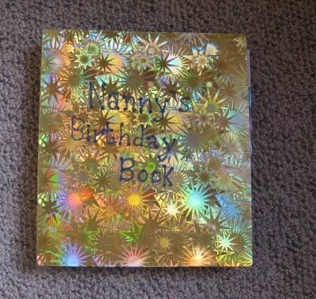 Yvonne Perry How to Make a Birthday Reminder Book – Birthday Card Reminder Book
