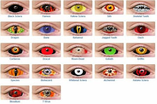 halloween color contacts