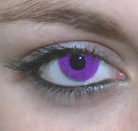 violet color contacts