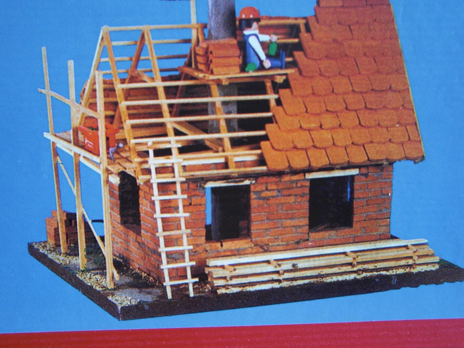 Friesenhaus ochsenwerder wir bauen ein haus zum for Modellhaus bauen